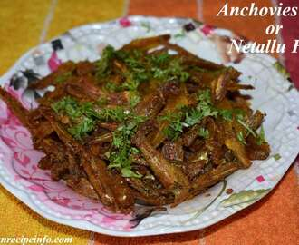 Dry Anchovies Fry, Karuvaddu Nethili fry, How to Make Dry Anchovies Fry