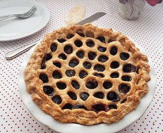 Pay de cerezas/ Cherry pie