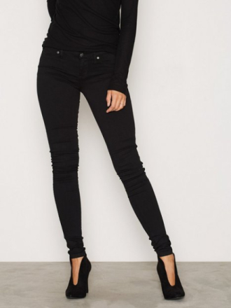 Dr Denim Kissy Denim Leggings Jeans Svart