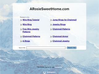 A Rosie Sweet Home