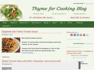Thyme for Cooking