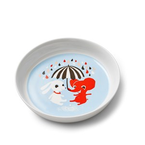 Littlephant Porcelain Plate Littlephant Blue