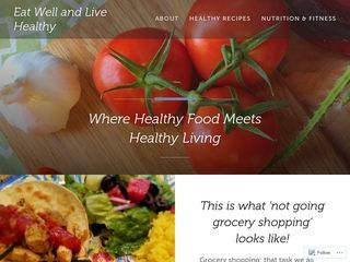 Eat Well and Live Healthy | Where Healthy Food Meets Healthy Living
