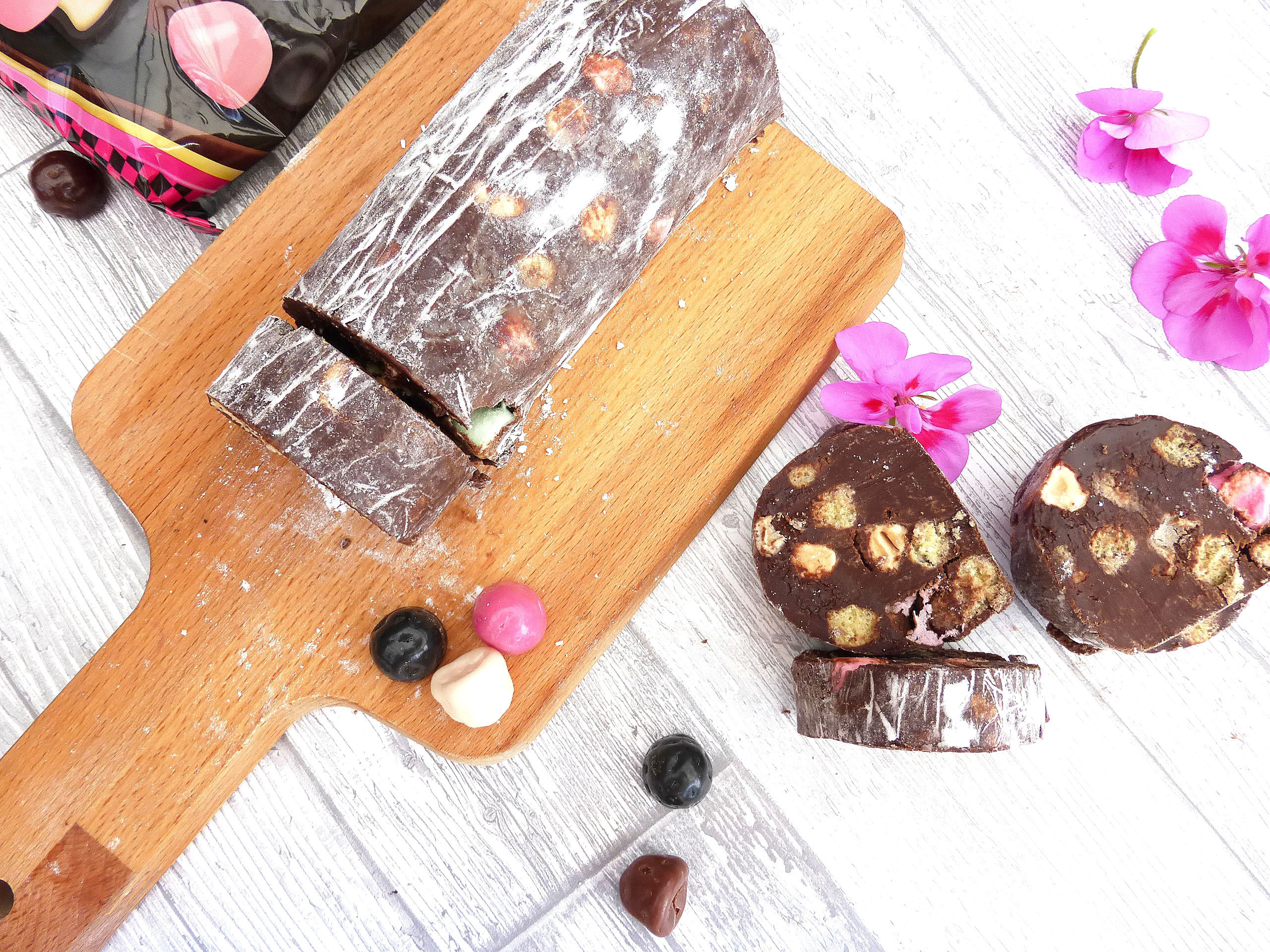Chocolate Salami (made with Swedish Polly Chocolate)