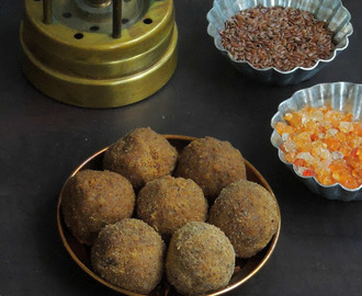 Alsi Ki Pinni/Flax Seeds & Edible Gum Sweet Balls