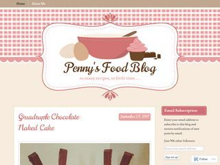 Penny's Food Blog