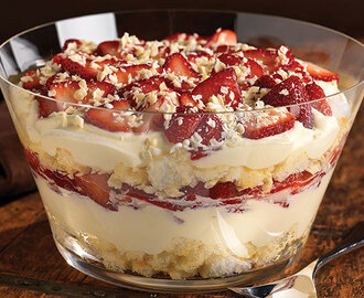 7 Layer Punch Bowl Dessert