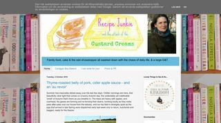 Recipe Junkie and the Attack of the Custard Creams