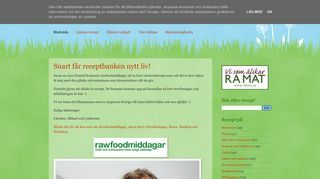 Recept på råkost, raw food, levande föda!