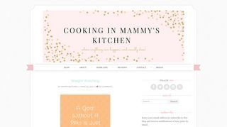 Cooking In Mammy's Kitchen