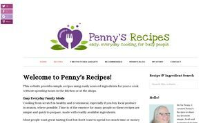 Penny's Recipes