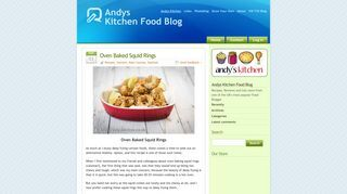 Andys Kitchen Food Blog
