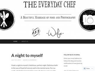 The Everyday Chef and Wife