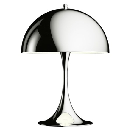 Louis Poulsen Panthella Mini Bordslampa - Krom