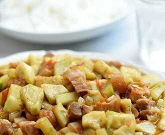 Ginisang Upo with Pork
