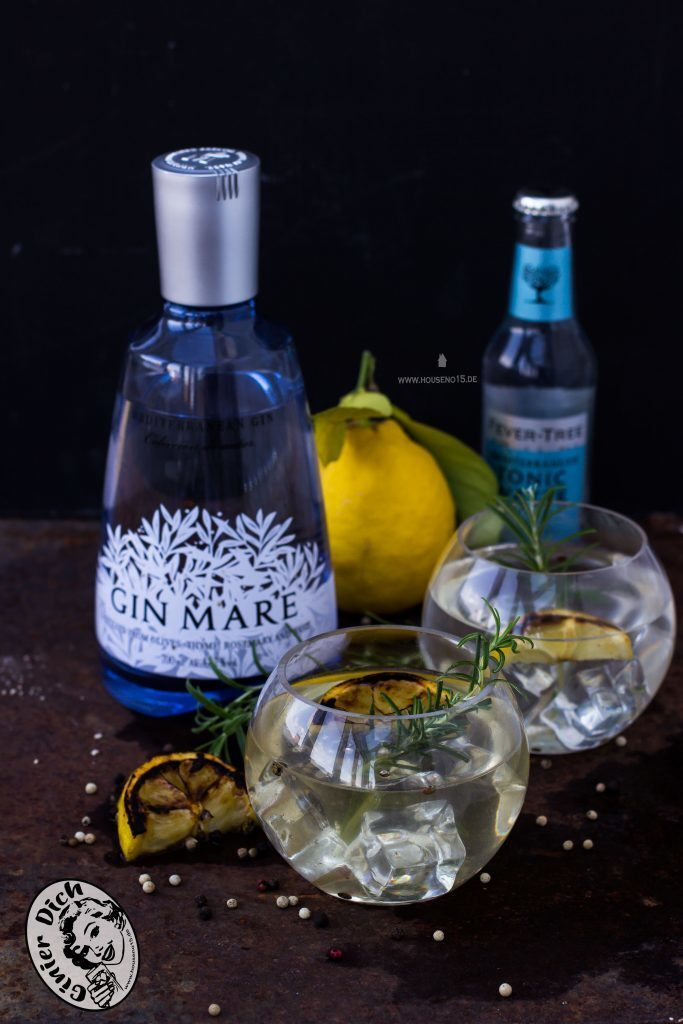 Gegrillter Gin-Tonic