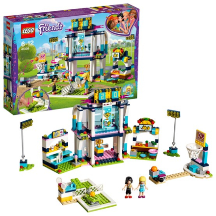 LEGO Friends 41338, Stephanies sportarena