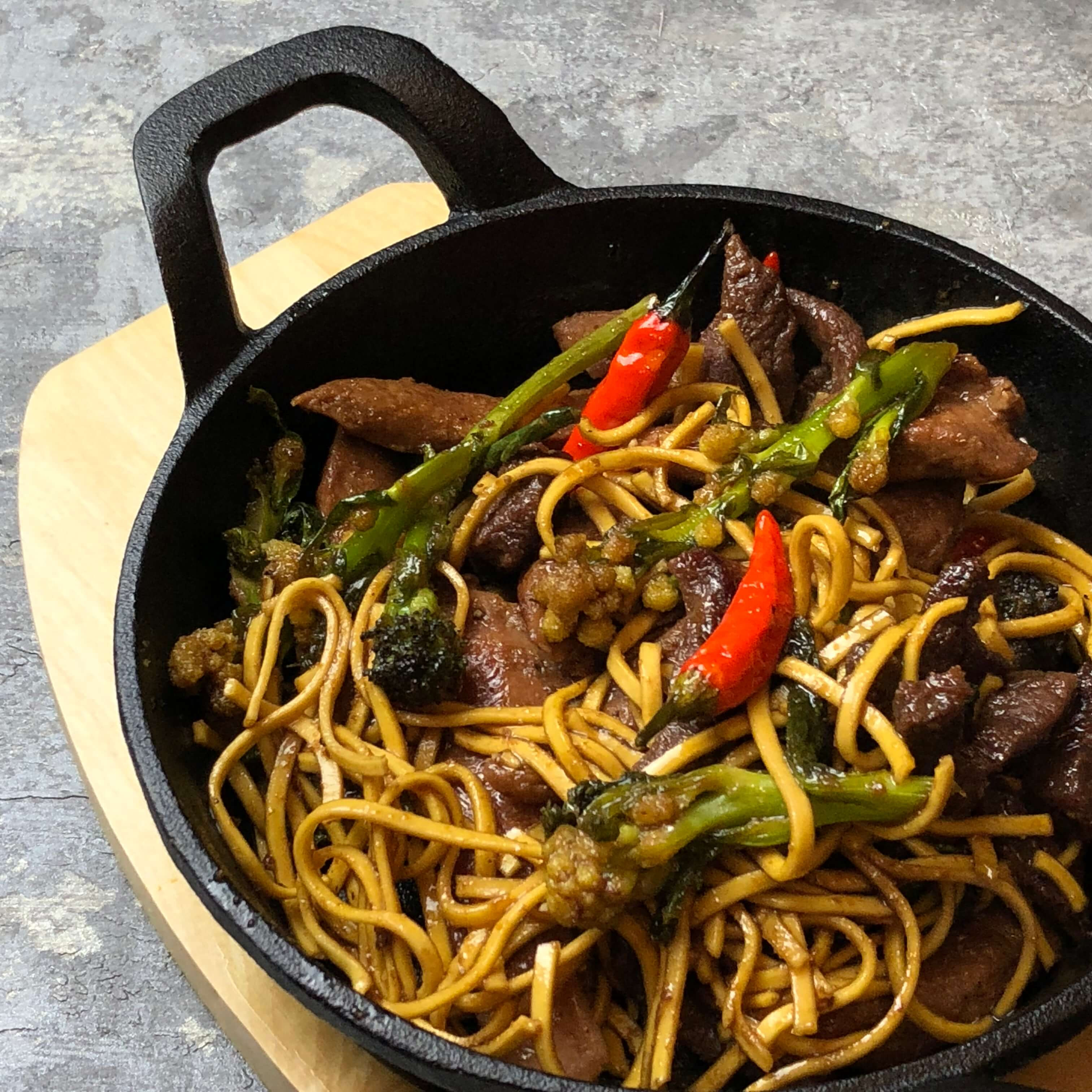 Nate's Duck & Beef Stir Fry Recipe