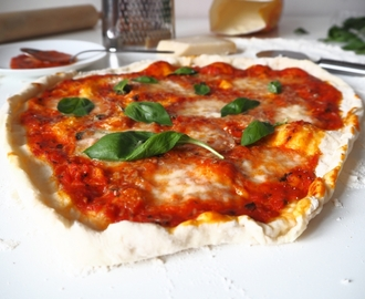 Domácí pizza Margherita - My Cooking Diary