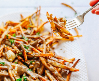 Easy Vegan Poutine