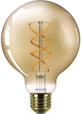 LED Flame Spiral Glob 95mm E27 - Philips