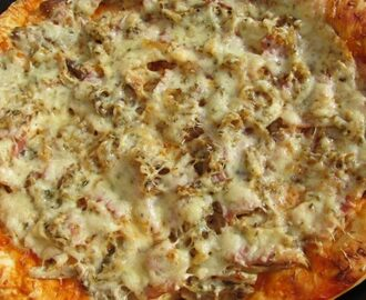 Pizza de pollo con thermomix