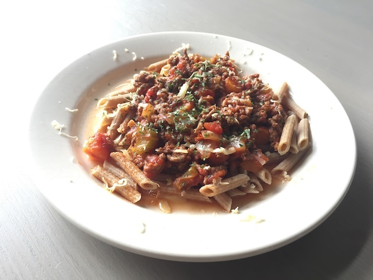 Koolhydraatarme pasta bolognese - Lowcarbchef.nl