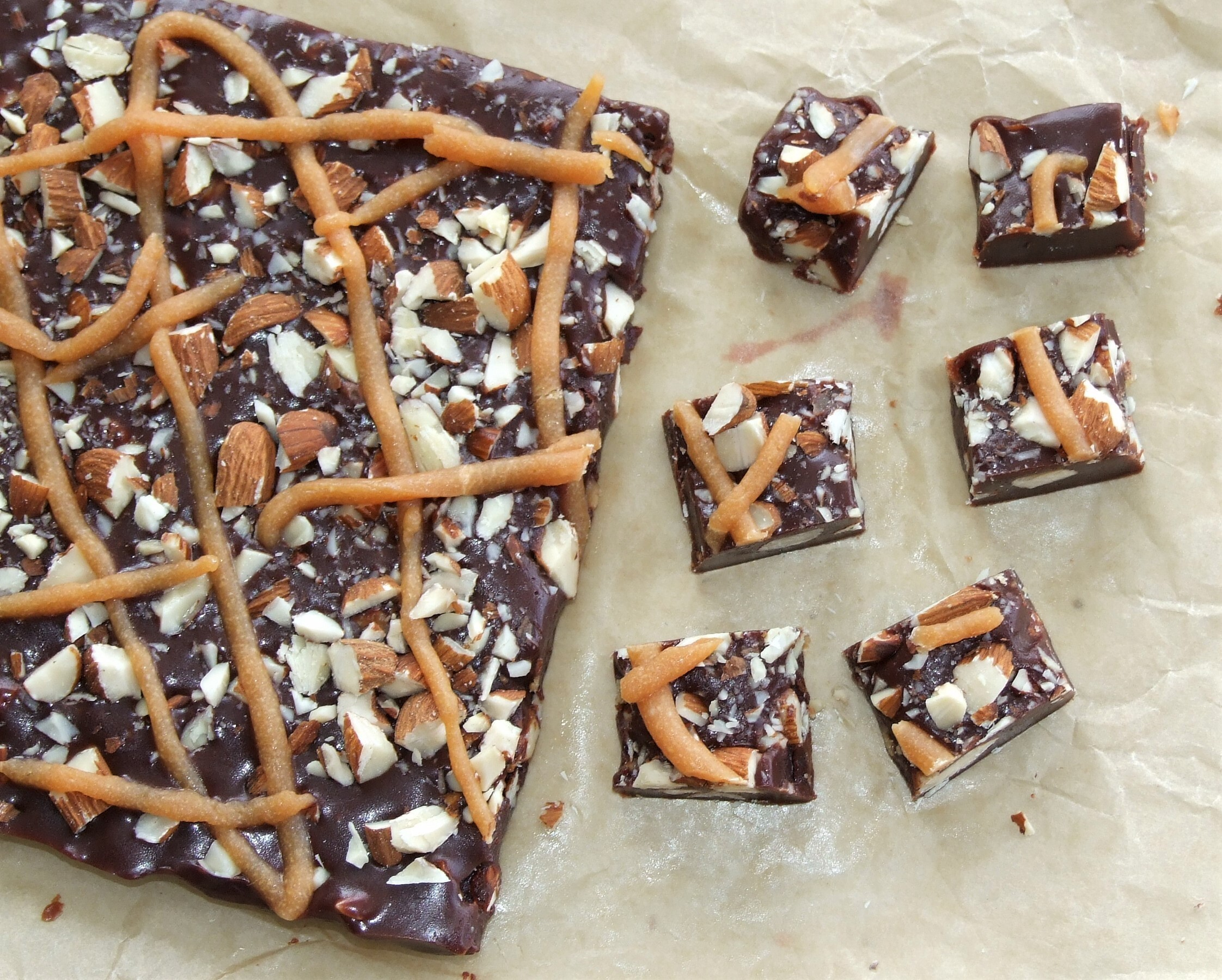 LCHF rocky road fudge!
