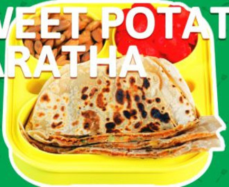 Sweet Potato Paratha Recipe