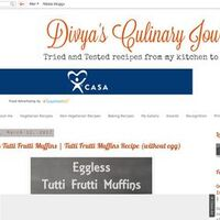 Divya's culinary journey