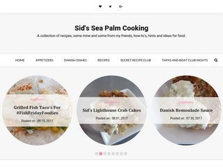 Sid's Sea Palm Cooking