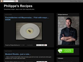 Philippe's Recipes