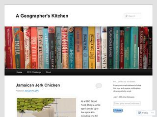 A Geographer's Kitchen