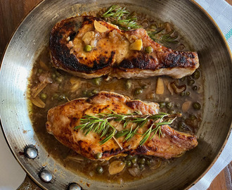 Pork Chops with Sweet Sour Sauce