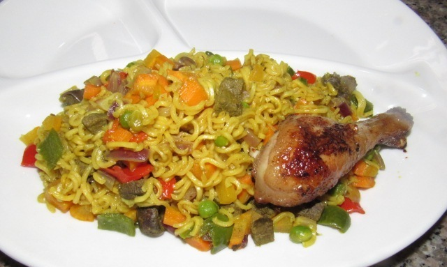 NIGERIAN FRIED NOODLES RECIPE 2