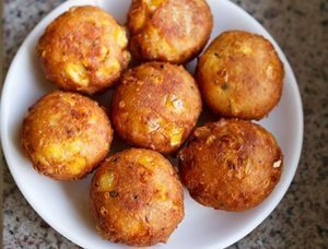 """Corn Cheese Balls Recipe..."""