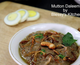 Mutton Daleem/ Mutton Porridge/ Mutton Stew/ Arabic Mutton Stew