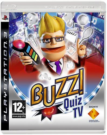 Buzz! Quiz TV (PS3) (buzzers ingår ej)