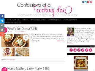 Confessions of a Cooking Diva