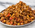 SAMBAL TERI TEMPE KACANG | SPICY ANCHOVIES WITH TEMPE AND NUTS