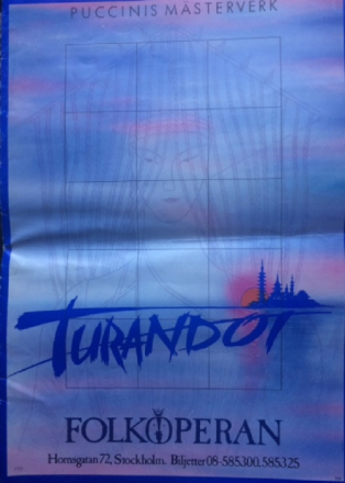 Teaterprogram: Turandot