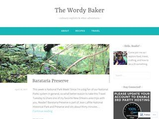The Wordy Baker