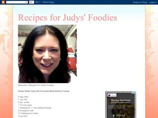 Recipes for Judys' Foodies
