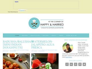 At the Corner of Happy and Harried |