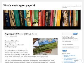 Cooking on page 32 |