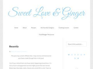 Sweet Love and Ginger