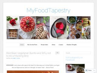 MyFoodTapestry