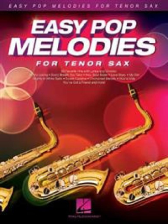 Easy Pop Melodies - Tenorsaxofon