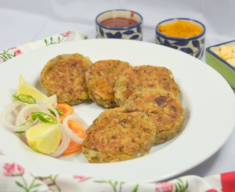 Rajma Kebabs | Rajma Patties