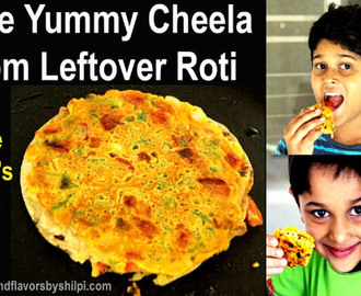 Roti Cheela | Leftover Roti Recipe |Bahi hue Roti ke Recipe | Breakfast Recipes Indian